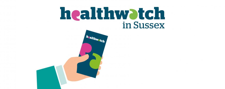 Healthwatch in Sussex logo