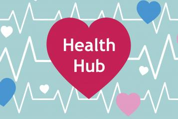health hub graphic