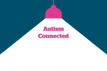 Spotlight graphic with 'Autism Connected' below