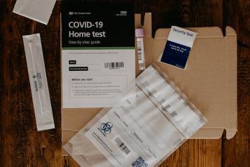 UK COVID-19 Home Test kit