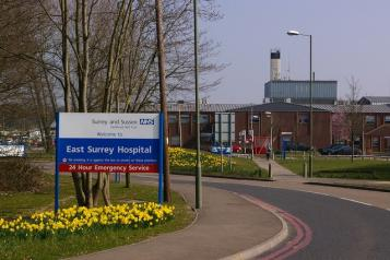 East Surrey Hospital Image