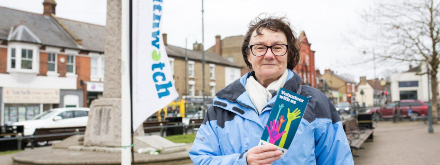 Healthwatch volunteer