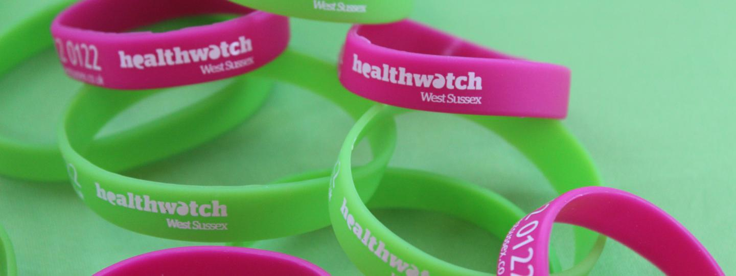 person calling Healthwatch