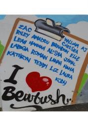 bewbush sign