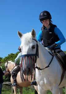 4Sight image of girl on horse
