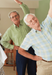 AHS image of older people doing exercise