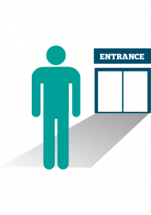 Hospital Entrance Graphic