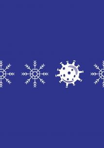 Graphic of snowflakes